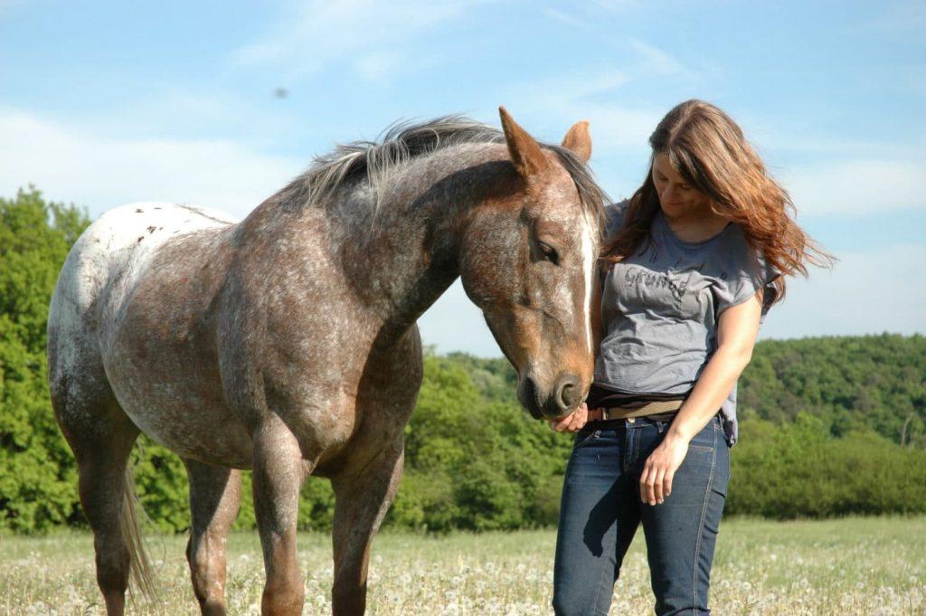 """""""Koně jsou pro mě okamžitým ukazatelem toho, co vyzařuji."""" Foto archiv Freshbedýnky"""