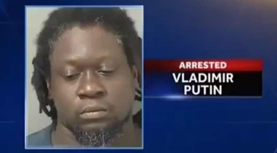 Tohle je Vladimir Putin, kterého zatkli na Floridě