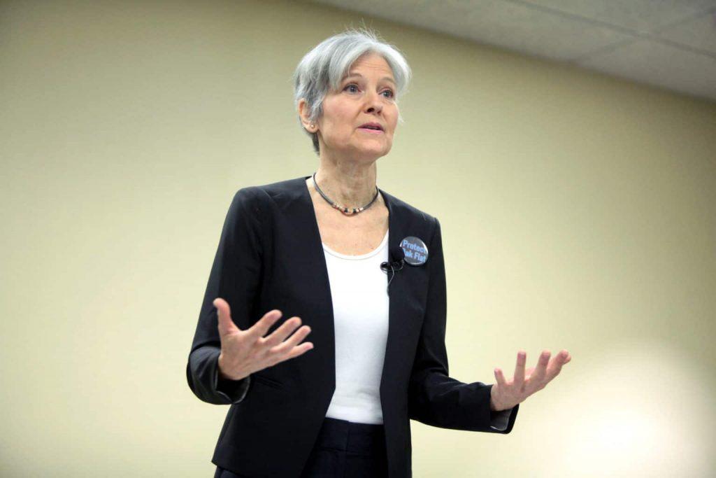 V neúspěšné kandidátce na prezidentku za Zelené Jill Steinové se náhle probudila touha po spravedlnosti a chce přepočítat hlasy v nejdůležitějších státech, kde vyhrál Trump. To je ale náhodička... Foto Wikimedia Commons