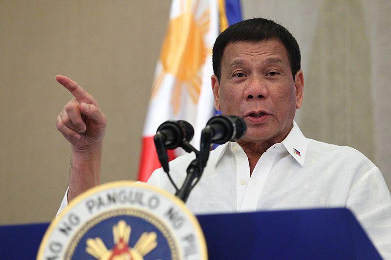 Filipínský prezident Rodrigo Duterte má na americký vkus až příliš vzpurnou letoru. Foto Wikimedia Commons