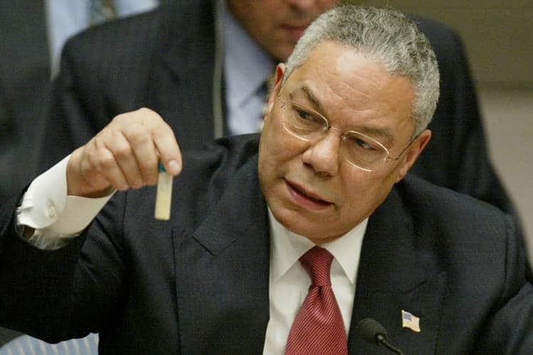 Napište, že Irák má zbraně hromadného ničení. Válku potřebujeme jako sůl... Foto Wikimedia Commons