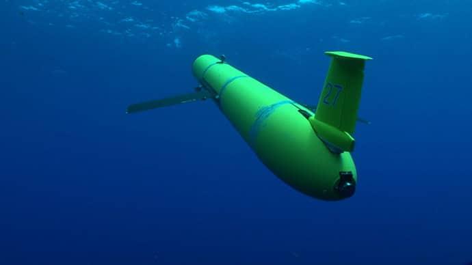 USA mají ve výbavě spoustu serepetiček, včetně podvodních dronů. Foto YouTube